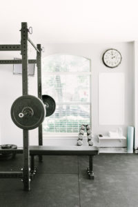 how to build a home garage gym