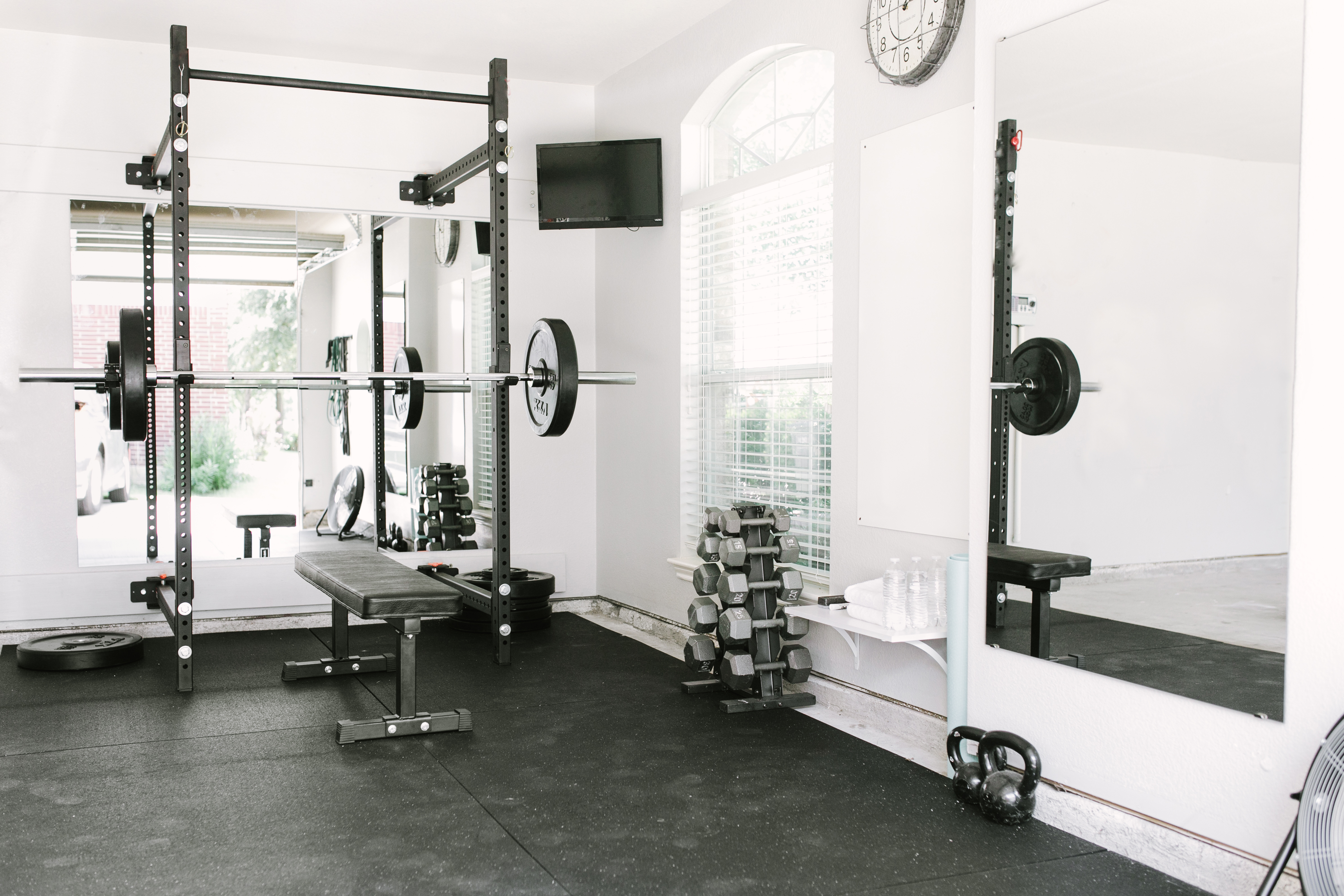 Garage gym ideas design cool home fitness decorating a small