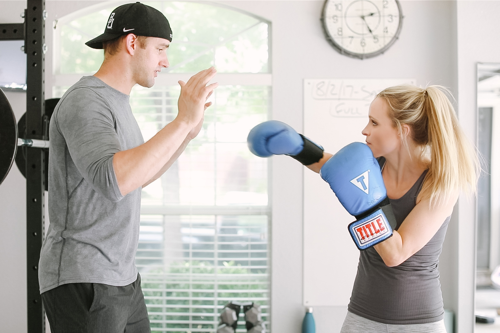 husband wife workout