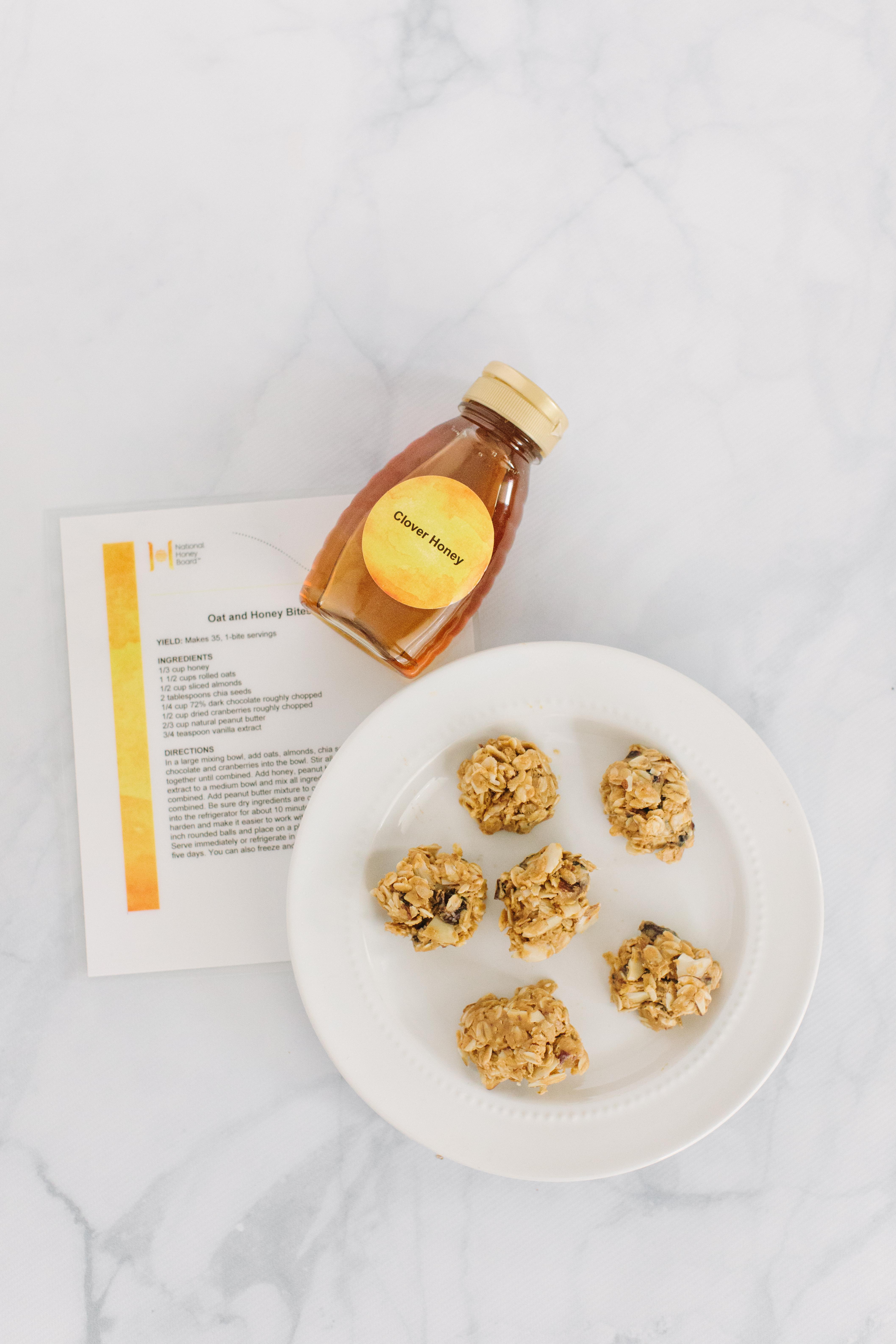 honey protein balls