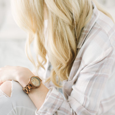 My Favorite Fall Accessory – Wooden Watches From Jord