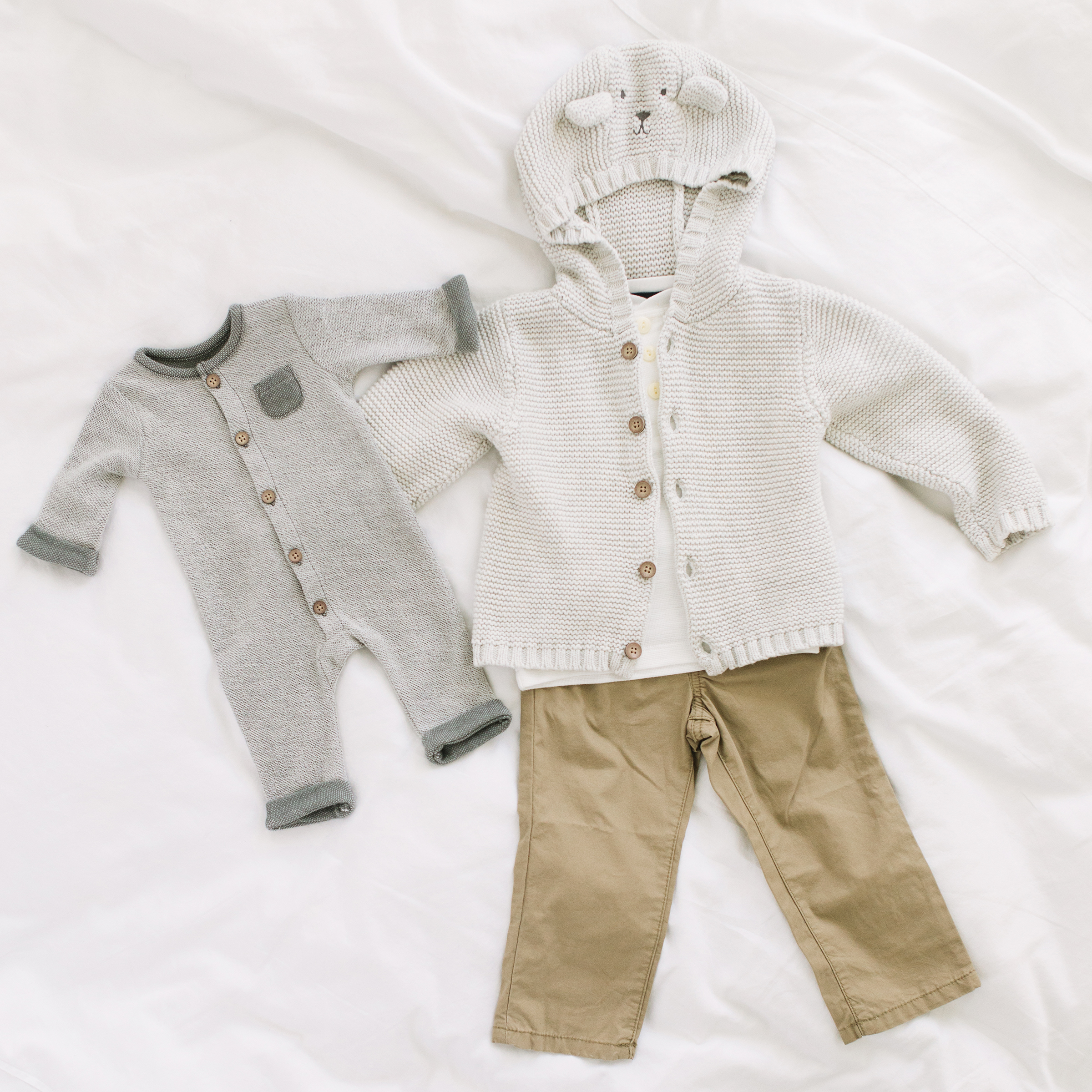 Sibling coordinating fall outfits by Carters from JCPenny