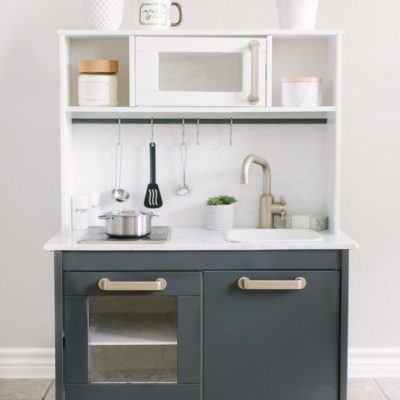 Ikea Play Kitchen DIY Makeover