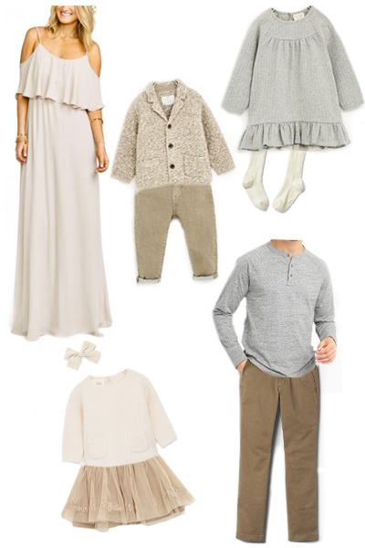 Outfit Inspiration For Fall Family Sessions