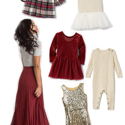 Christmas Family Photos Outfit Inspiration