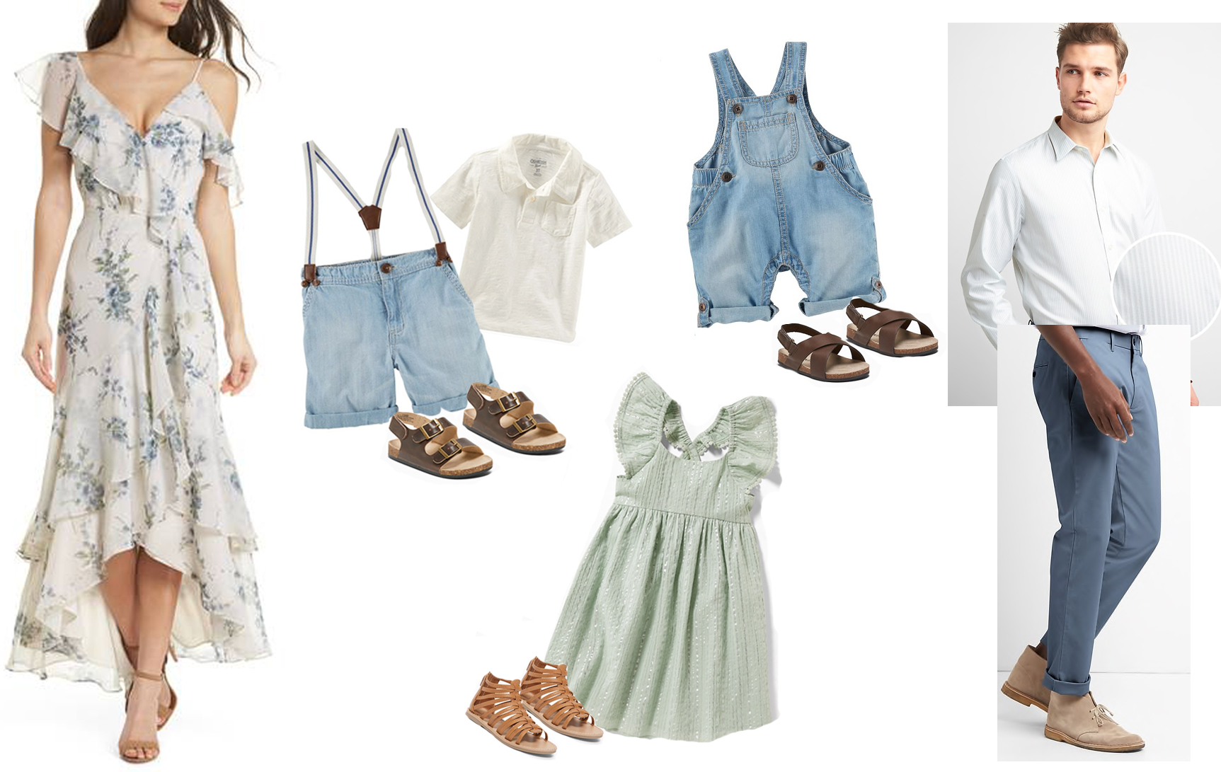 Spring Family Session Outfit Ideas