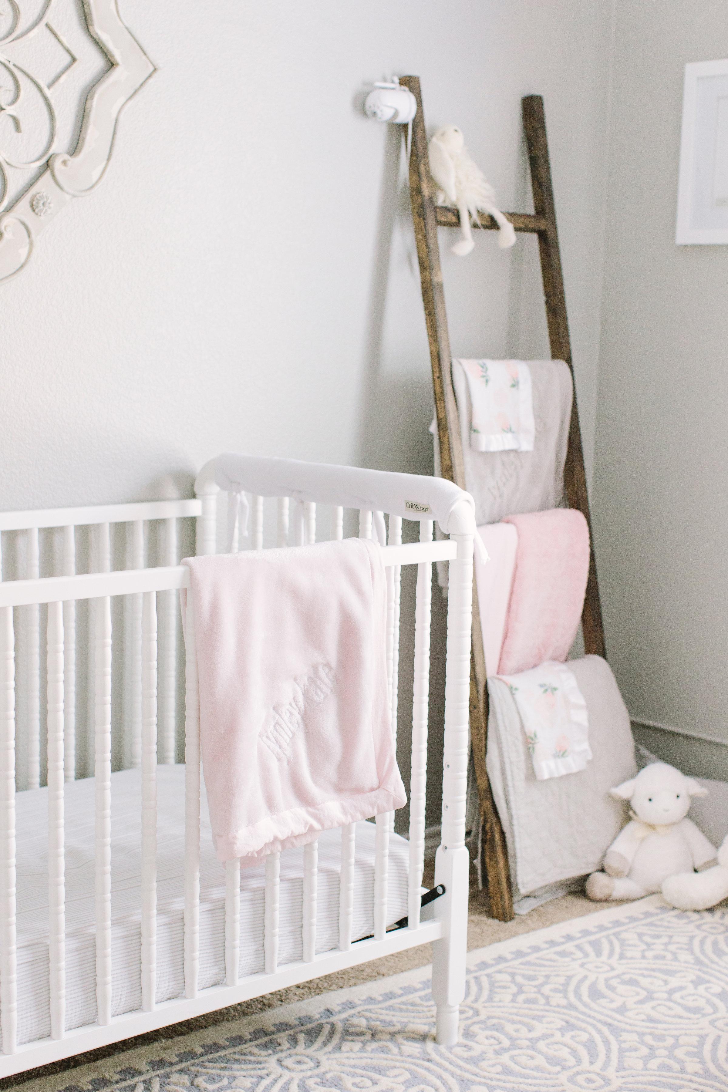 Gray Pink Nursery