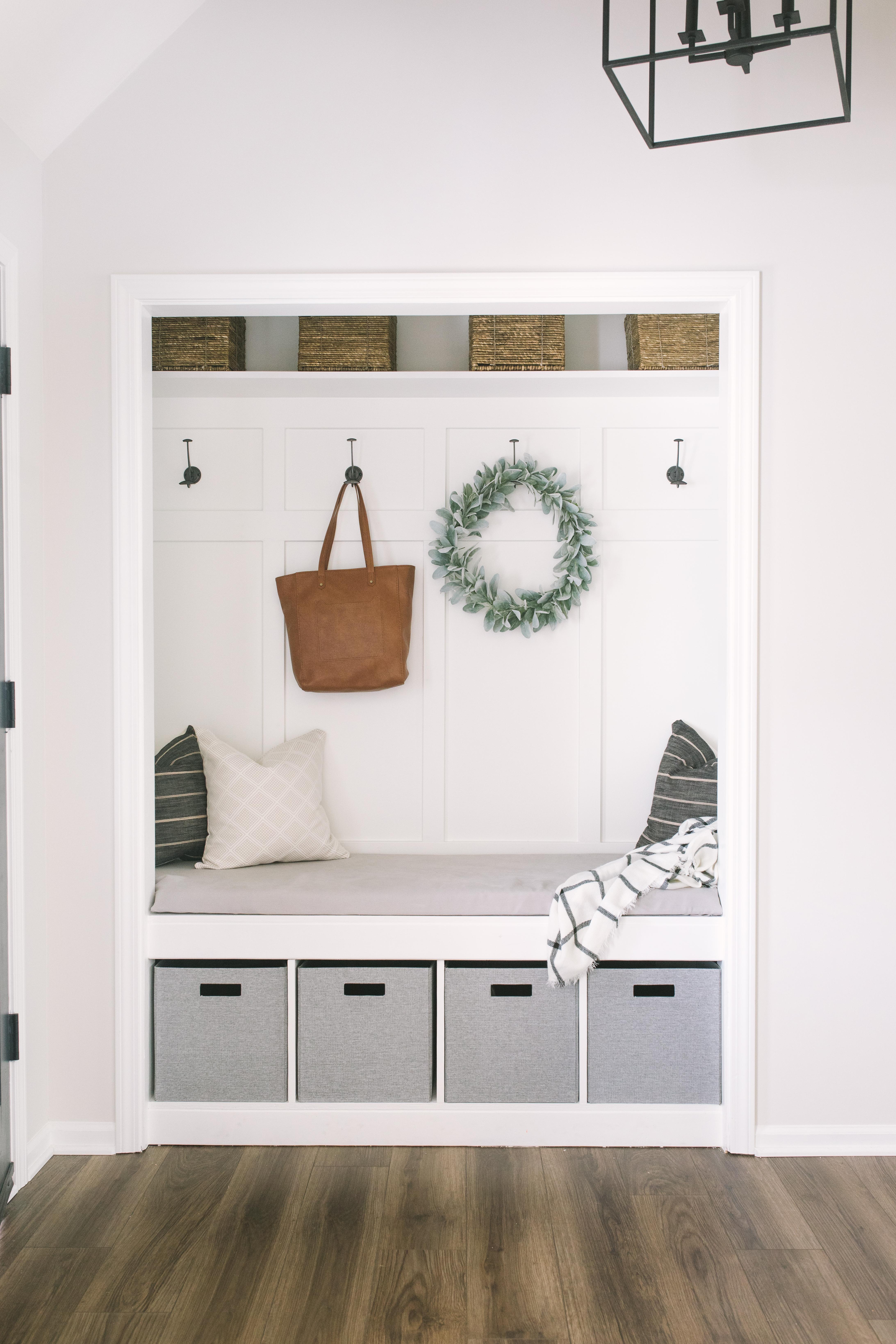 Closet Mudroom Diy Katie Lamb