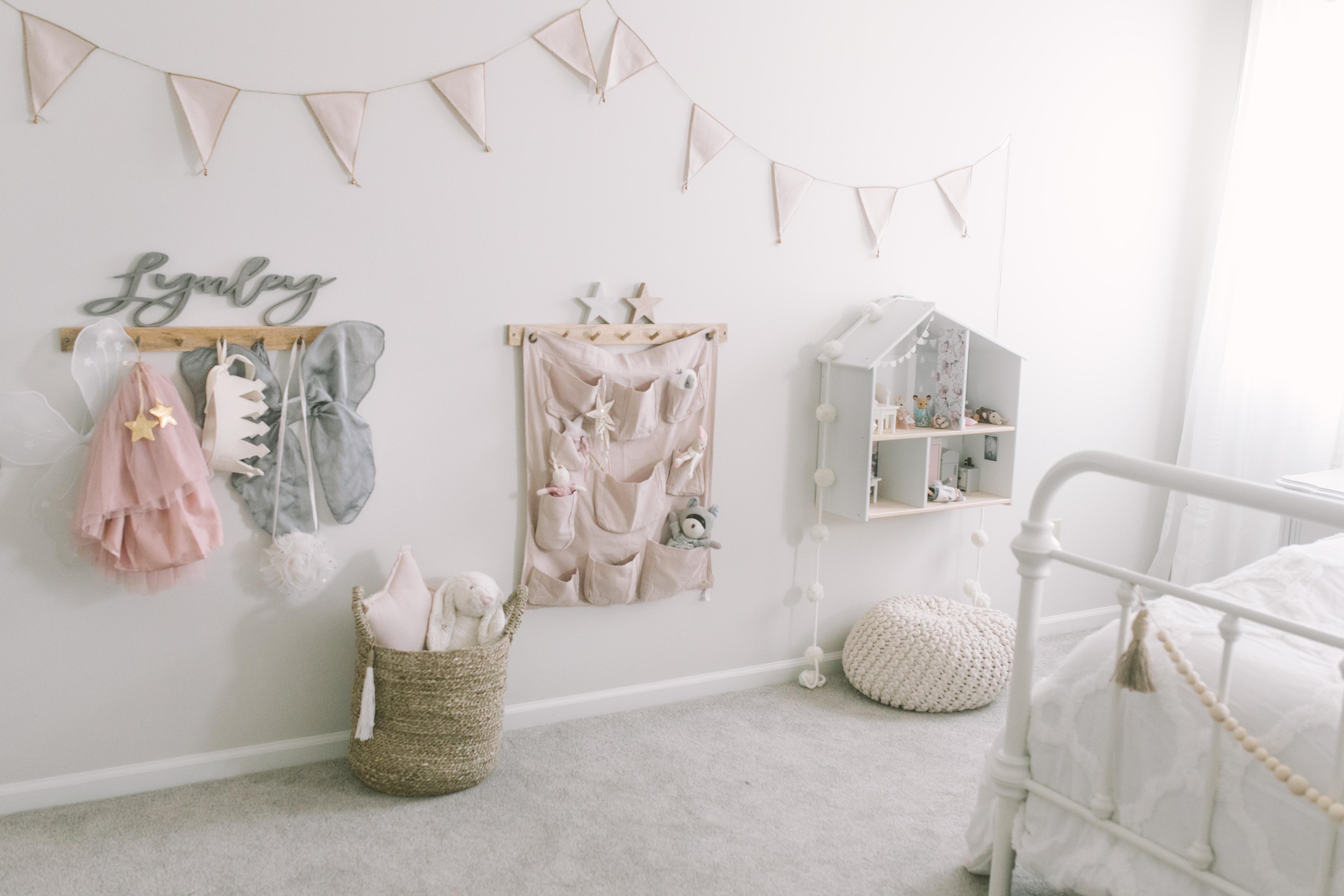 Toddler Girl Room Makeover