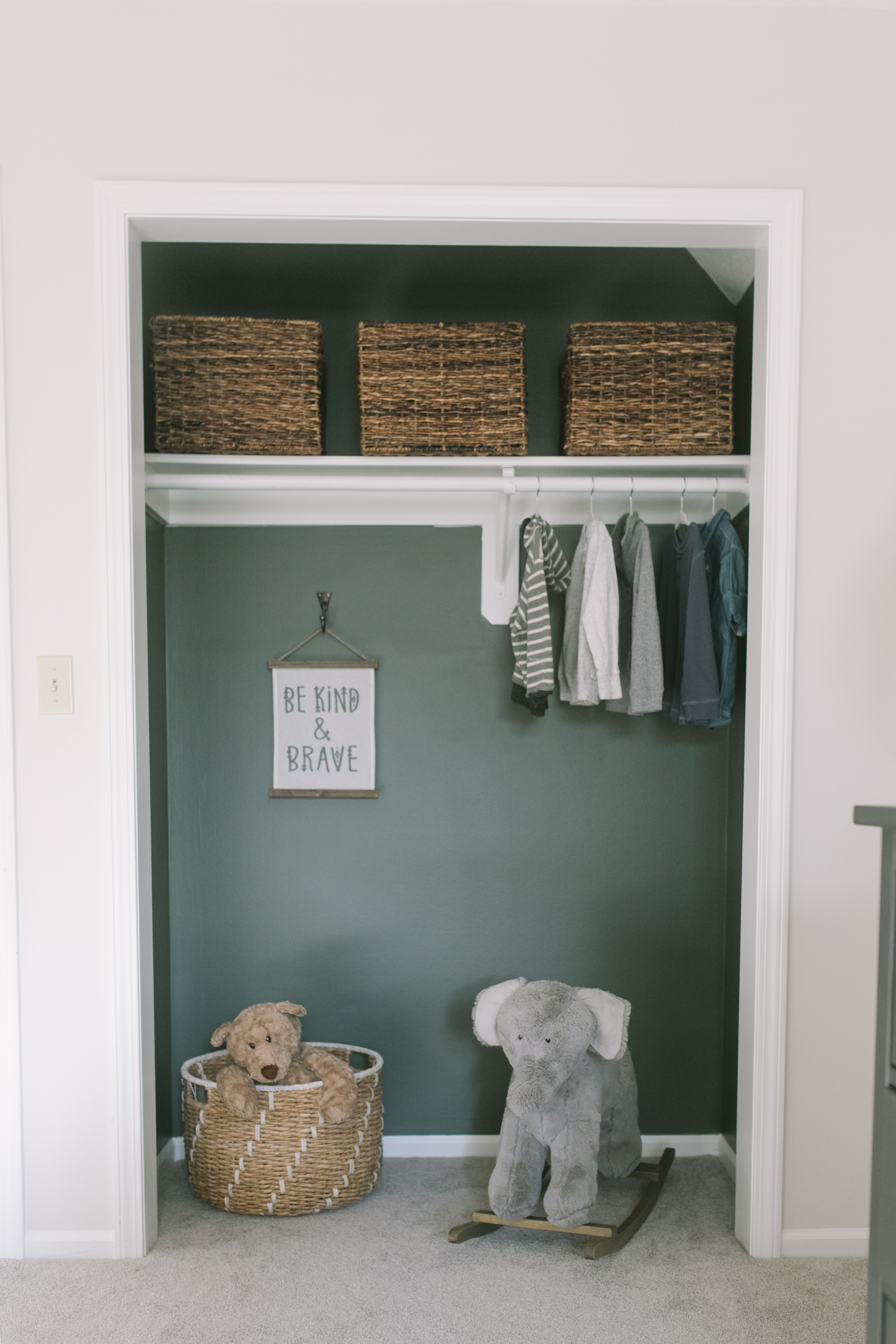 Toddler Boy Room Green